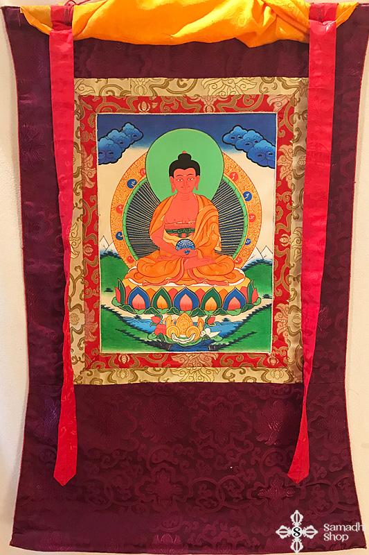 Amitabha Buddha thangka 21