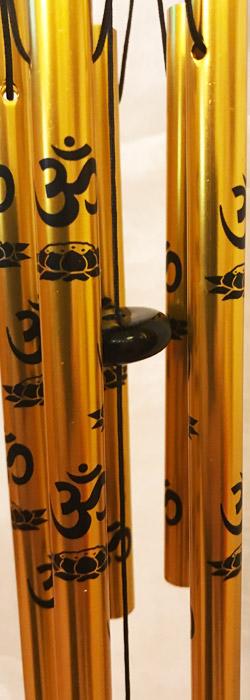 Arany OM szimbólumos szélcsengő 2