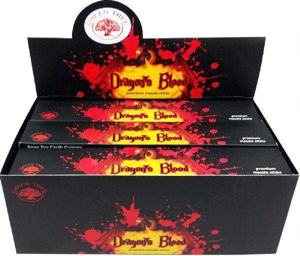 Green Tree Dragons Blood indiai prémium füstölő