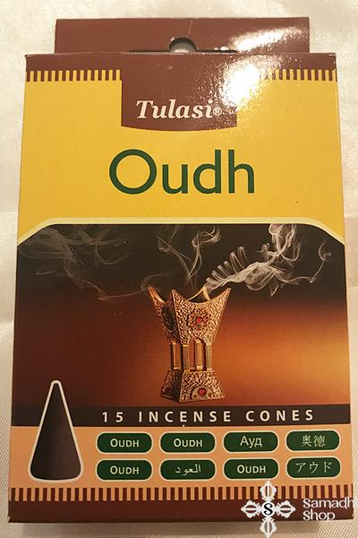 Tulasi Oudh sasfa oudh vagy agárfa kúpfüstölő
