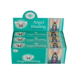 angel healing angyal füstölő green tree samadhi shop