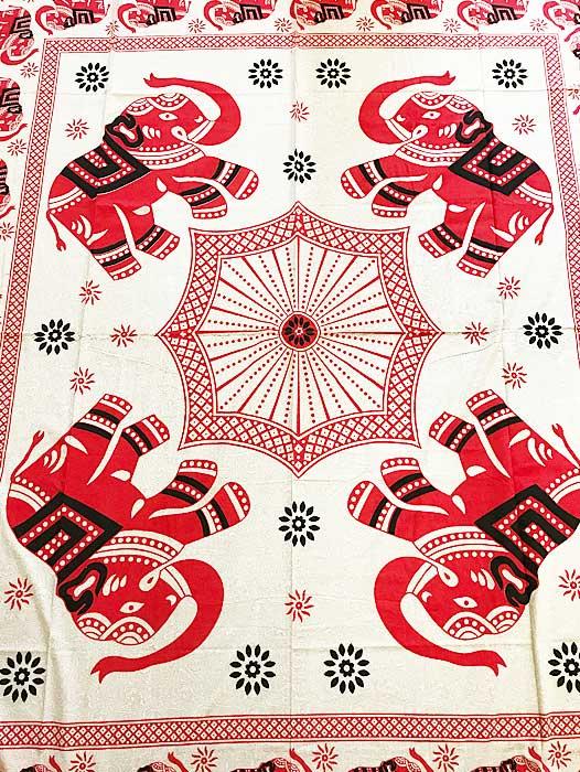 indiai pamut mandala ágytakaró faliszőnyeg samadhi shop 3