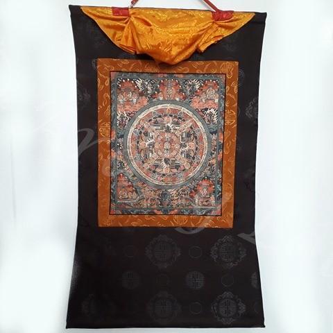 sakjamuni buddha elete thangka 4