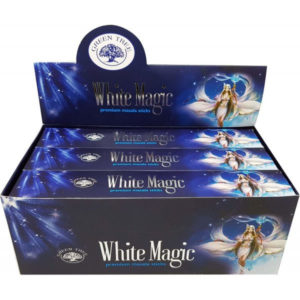 white magic fehér mágia green tree incense samadhi shop