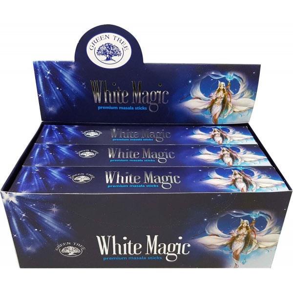 white magic fehér mágia green tree incense samadhi shop